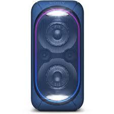 sony gtk. sony gtk-xb60 extra bass party speaker (blue) gtk g