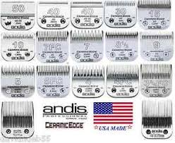 Details About Genuine Andis Ceramic Edge Blade Fit Many Oster Wahl Laube Clippers Pet Grooming