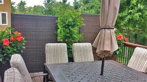 outdoor privacy screen wicker partition backyard screens nz