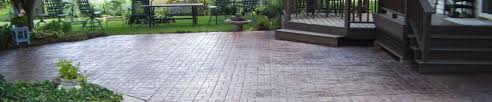 stamped concrete patio designs by kelly
