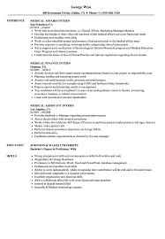 How To Write An Internship Resume Medical Internship Resume Templates Physician Assistant Cv