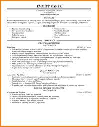 General fitter resume