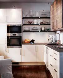 L Shaped Kitchen Cabinet White Small L Shaped Kitchen Layout Combine Wall Mounted Stainlees