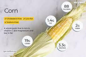 Corn Nutrition Facts And Health Benefits