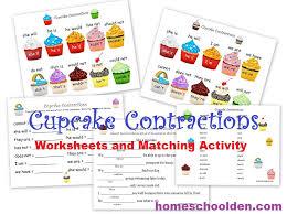 FREE Cupcake Matching Activity Worksheets | Free Homeschool Deals ©