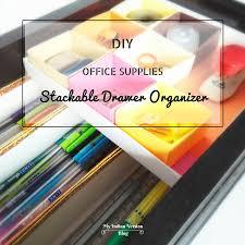 office drawer dividers. Interesting Office Diyofficesuppliesstackabledrawerorganizermyindianversion For Office Drawer Dividers
