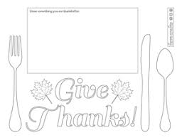 Alibaba.com offers 153 printable plastic placemats products. Printable Thanksgiving Placemats To Color Favecrafts Com