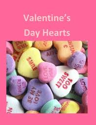 Microsoft Word Hearts Valentine S Day Candy Hearts As A Handout Or For Microsoft Word