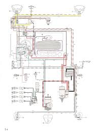 thesamba com type 1 wiring diagrams 74 Super Beetle Wiring Diagram at 1973 Vw Bug Instrument Panel Wiring Diagram