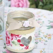 Decorating Jam Jars For Candles Rose Jam Jar Candle Holder Tea Light Holder Vintage Books And 88