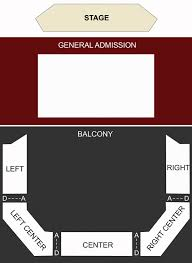 The Pageant St Louis Mo Seating Chart Stage St