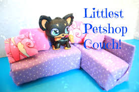 Littlest Pet Shop Bedroom Decor Lps Diy How To Make An Lps Couch Pawesome Crafts Youtube