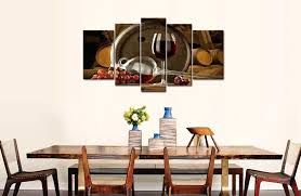 wine wall art 5 panel wall art painting red gs wine barrel and gs red wine metal wall art