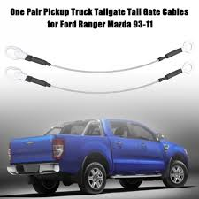 1Pair Pickup Truck Tailgate Tail Gate Cables for Ford Ranger Mazda ...