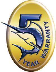 okuma logo. okuma 5 year warranty logo