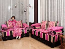 Pink Living Room Set Architecture Pink And Black Coloring Scheme For Room Painting