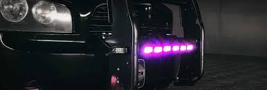 Purple Emergency Vehicle Lights Purple Led Lights For Cars Purple Strobe Lights