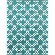 Teal Living Room Rug Mainstays Fret Area Rug Available In Multiple Colors And Sizes