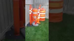 Lighted Collapsible Traffic Cones My Traffic Cone Collection First Video Youtube