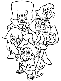 Small Picture Steven Universe Coloring Page by Porigoshi by sanorace on DeviantArt