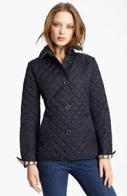 Burberry 'Pirmont' Quilted Jacket on shopstyle.com | Places to ... & Burberry Brit 'Copford' Quilted Jacket Adamdwight.com