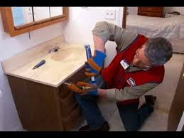how to replace a vanity and sink you