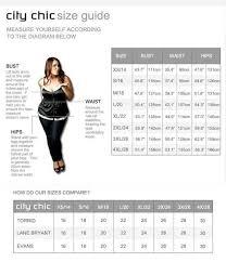 City Chic Size Chart City Chic Size Chart Plus Size Outfits Plus Size Leggings