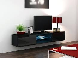 open shelf tv stand furniture inspiring wall mounted modern low stand featuring glossy glass door cabinet and center threshold open shelf tv stand espresso