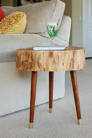 furniture from large tree stump slices google search tree stump table for