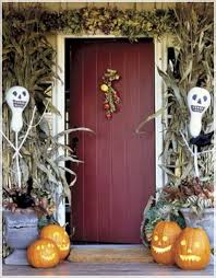 Exterior Door Decorating Halloween Decorations For The Entry Inmyinterior