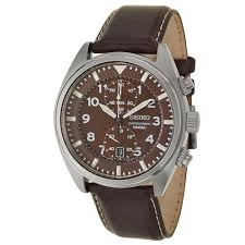 seiko men s snn241 stainless steel watch with black leather band