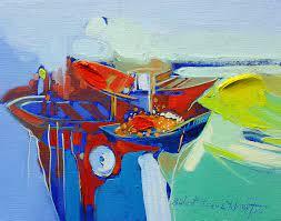 Ressam Bülent Yavuz Yılmaz | Soyut Figüratif Resimler | Sanatçı İmzalı