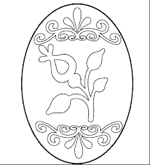 Easter Egg Coloring Pages Eggs Printable Of To Images Crayola