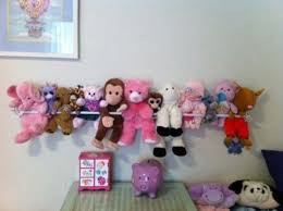 clever ways to display your plush toys