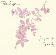 Thank You Sympathy Cards Sympathy Cards Dos And Donts Gallery Collection Blog