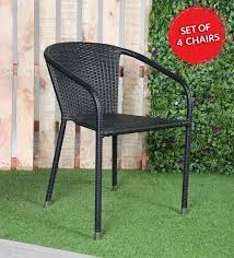 harisson outdoor chair set of 4