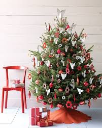 Red And White Christmas Tree: Source