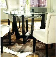 awesome round glass top dining table sets about remodel home intended for inch kitchen high ikea