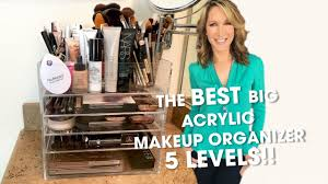 Best Large <b>Acrylic Makeup Organizer</b> - YouTube