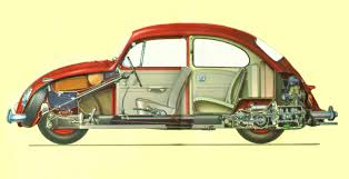 explodedview1966beetle jpg celebrating 12 years on the world wide web