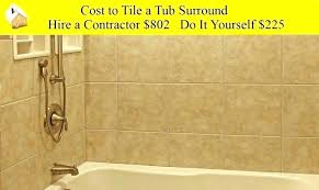 cost to replace a bathtub of replacing bath