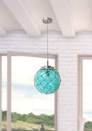 Nautical Globe Pendant Light Bashaw 1 Light Single Globe Pendant