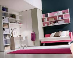 terrific girls bedroom with pink and white floating storage rack and pink rugs on white granite bedroomterrific chairs seating office