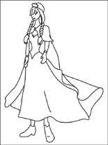 Disney Princess Gratis Kleurplaten