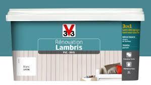 Peinture Spéciale Pour La Rénovation Du Lambris Sans Décapage De V33.  Convient Aussi Pour Boiseries