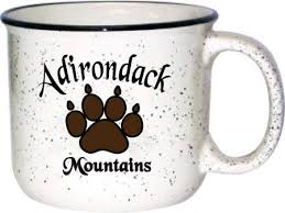 Coffees from around the world. Amazon Com 14oz Ceramic Campfire Mug Cup Set Of 12 Adirondack Mountains Souvenir Gift White Bear Paw Print Camper Camping Wholesale Bulk Lot Coffee Cups Mugs