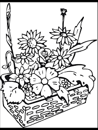 Small Picture Coloring Pages Free Coloring Pages Flowers Fruits Printable