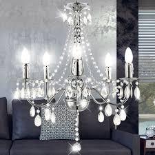 Eleganter Kronleuchter Mit Acryl Kristallen