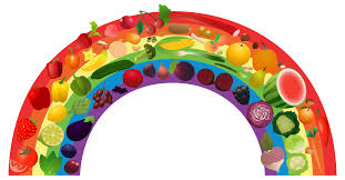 healthy food clipart. Fine Healthy First Name  Download Rainbow_1png Intended Healthy Food Clipart H