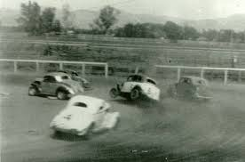 Vintage Dirt Track Stock Car Racing Old School Racing